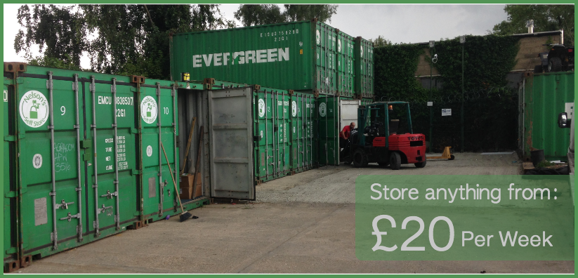Nelsons Self Storage Container self storage Hitchen Commercial